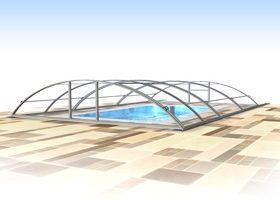 Павильон для уличного бассейна