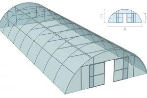 Туннельная теплица