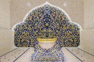 Мозаичное панно для хамама