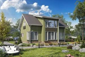 Проект каркасного дома 170.9 м2