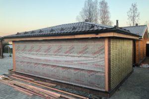 Утепление гаража из пеноблоков