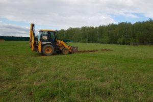 Начало земельных работ